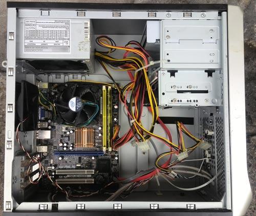 Komputer po czyszczeniu