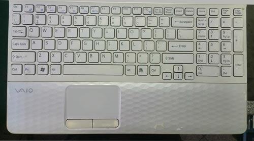 sony VAIO wymiana klawiatury