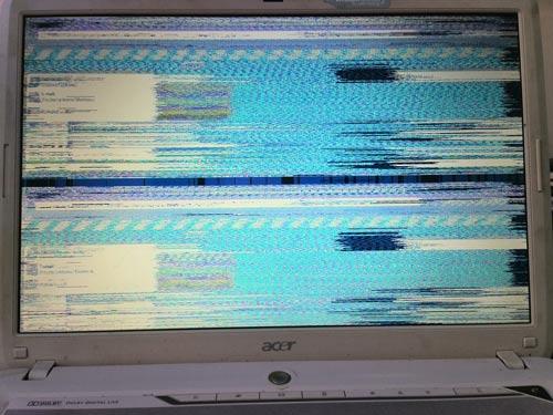 Skaczący obraz i prawidłowe podłączenie matrycy w laptopie Asus Aspire 5720