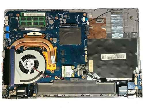 Wymiana gniazda zasilania w laptopie