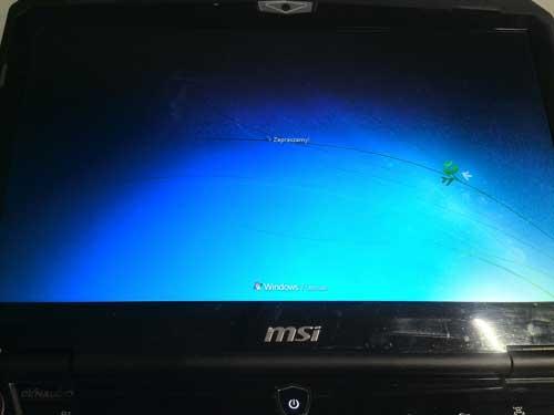 Wymiana karty graficznej w laptopie MSI
