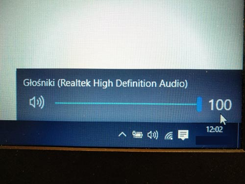 Windows 10 brak dźwięku w laptopie HP 250 G4
