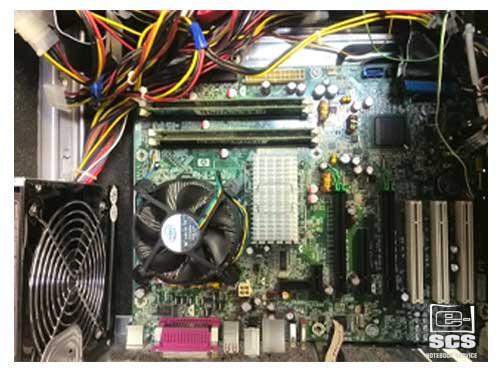 Wymiana karty grafiki w komputerze stacjonarnym