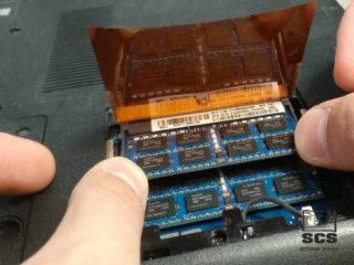 Wymiana RAM w laptopie Sony i instalacja systemu