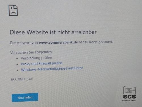 Naprawa i instalacja systemu Windows10 język niemiecki 3