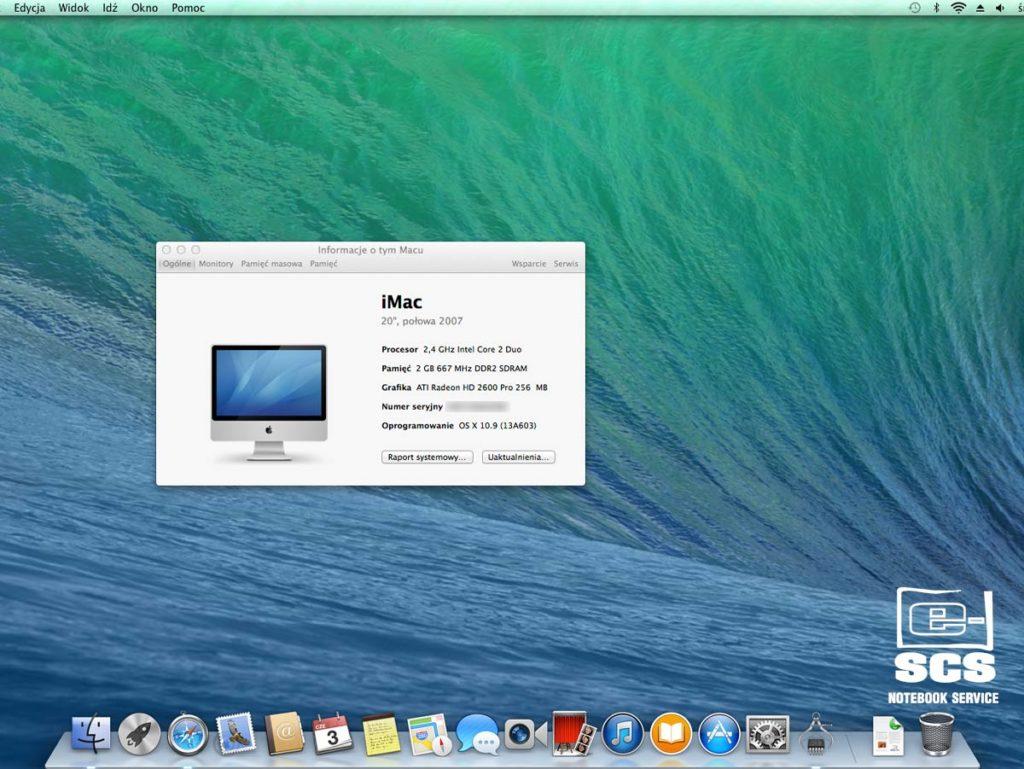 Wymiana dysku twardego w iMacu. Czyszczenie układu chłodzenia
