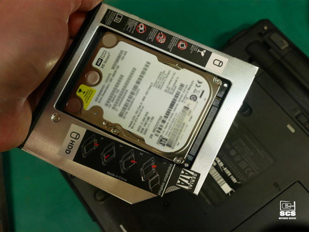 dodatkowy dysk w laptopie Lenovo T410
